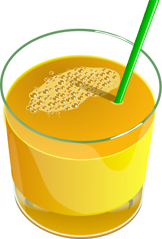 Orange juice free fruit juice clipart 1 page of clip art