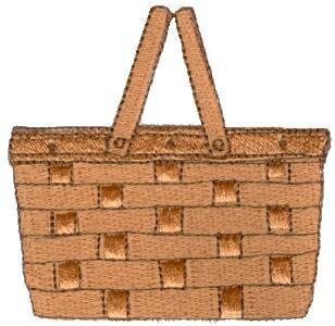 Picnic basket clipart free clip art images basket clipart