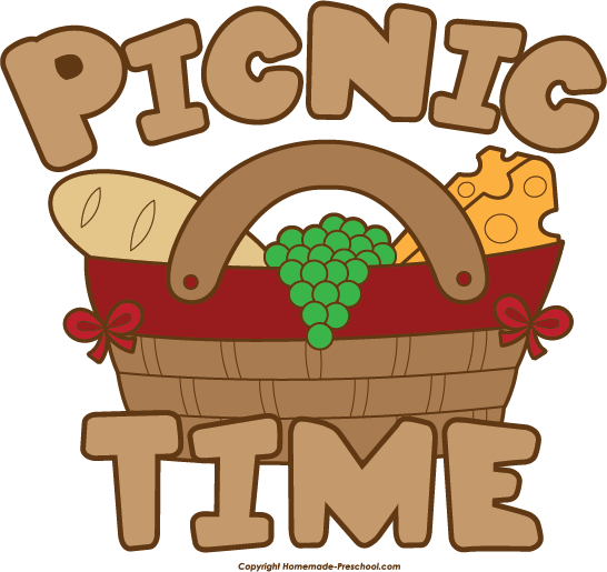 Picnic basket free picnic clipart 5