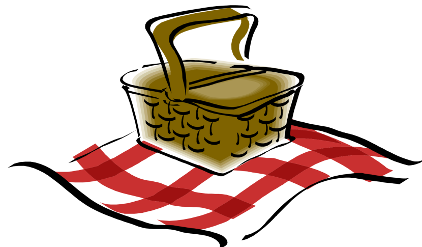 Picnic basket free picnic clipart hostted