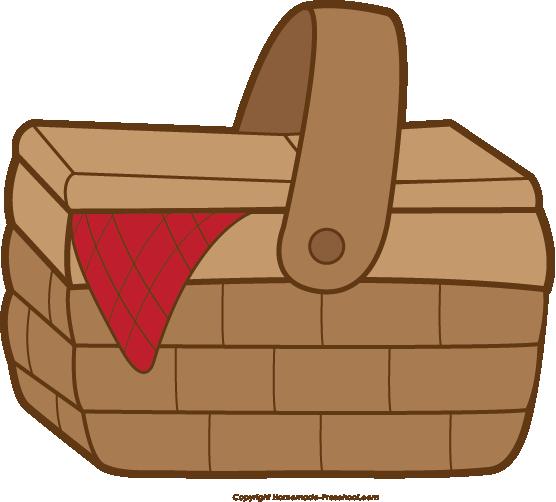 Picnic basket free picnic clipart