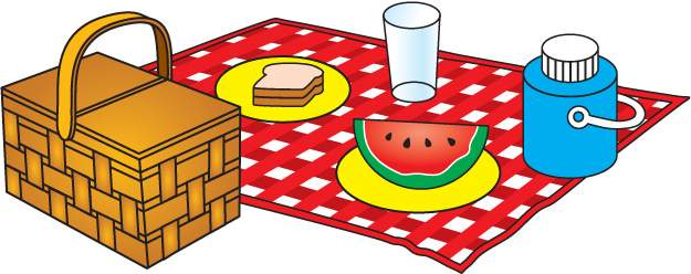 Picnic basket with ants clip art free clipart images