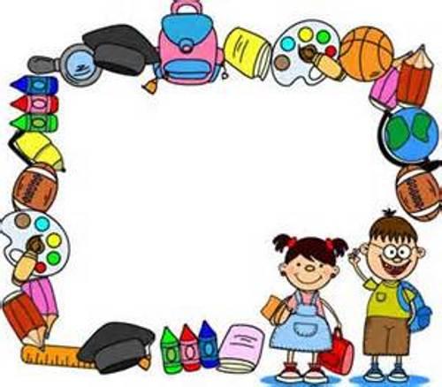Preschool border clipart clipartfest 4