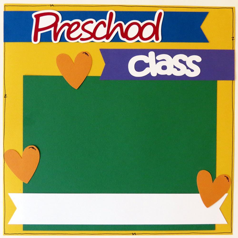 Preschool borders 4