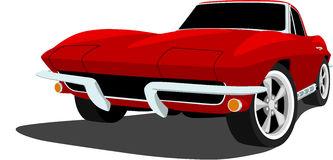 Red corvette clip art clipartfox