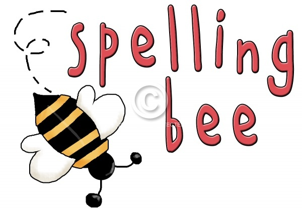 Spelling bee clip art 5