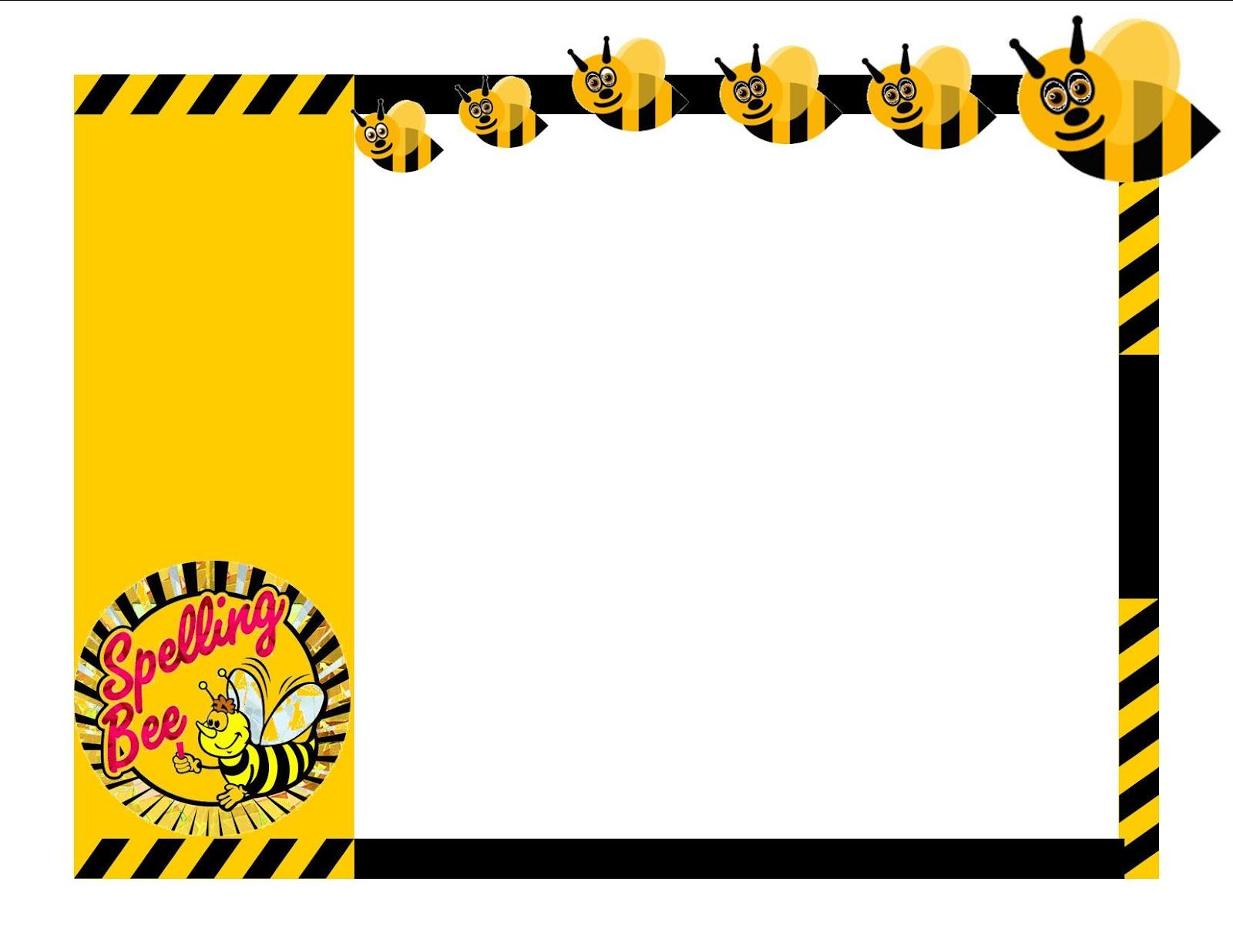 Spelling bee clip art 6