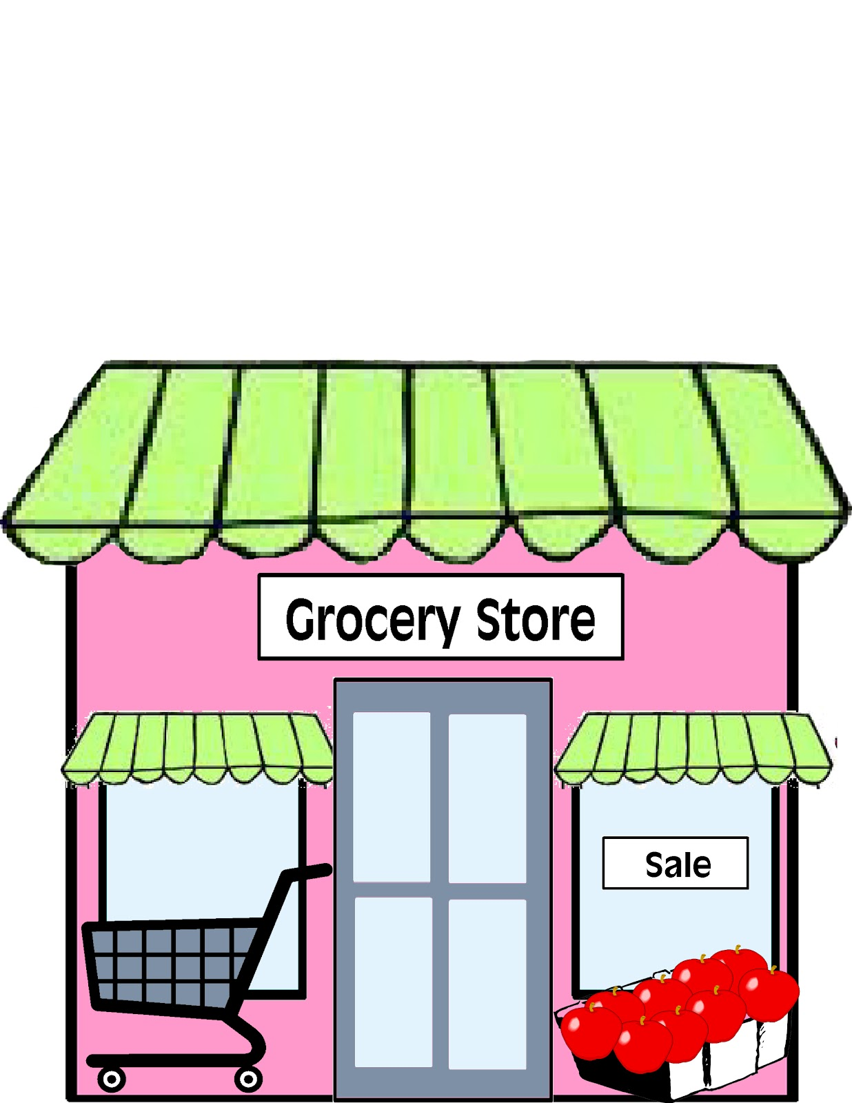 Supermarket clipart 4