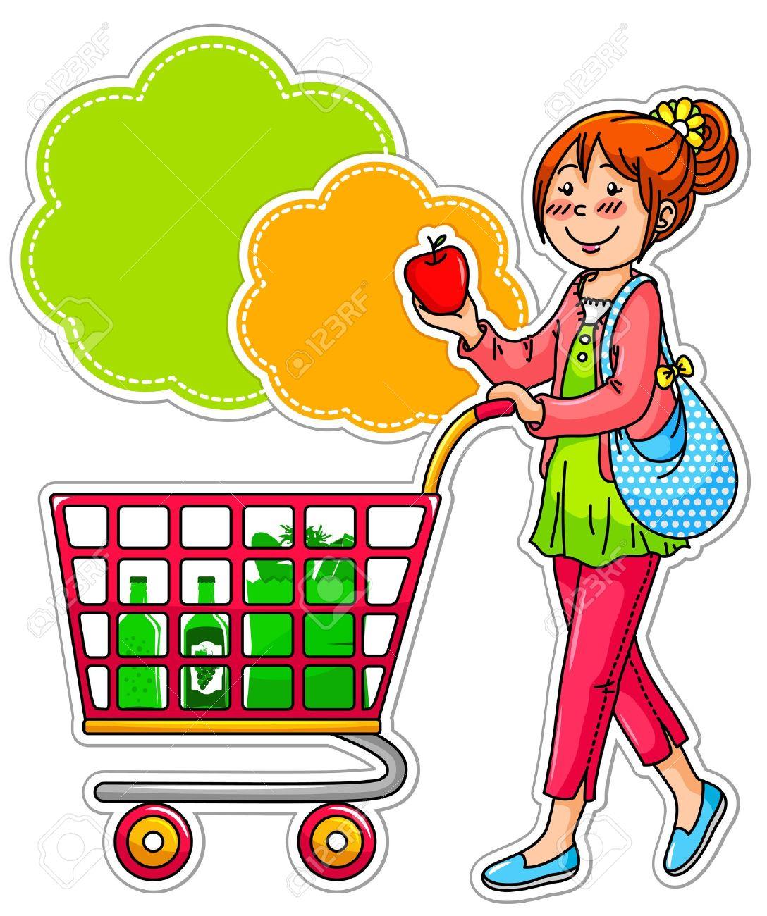 Supermarket clipart clipart