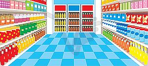 Supermarket clipart tiny 4
