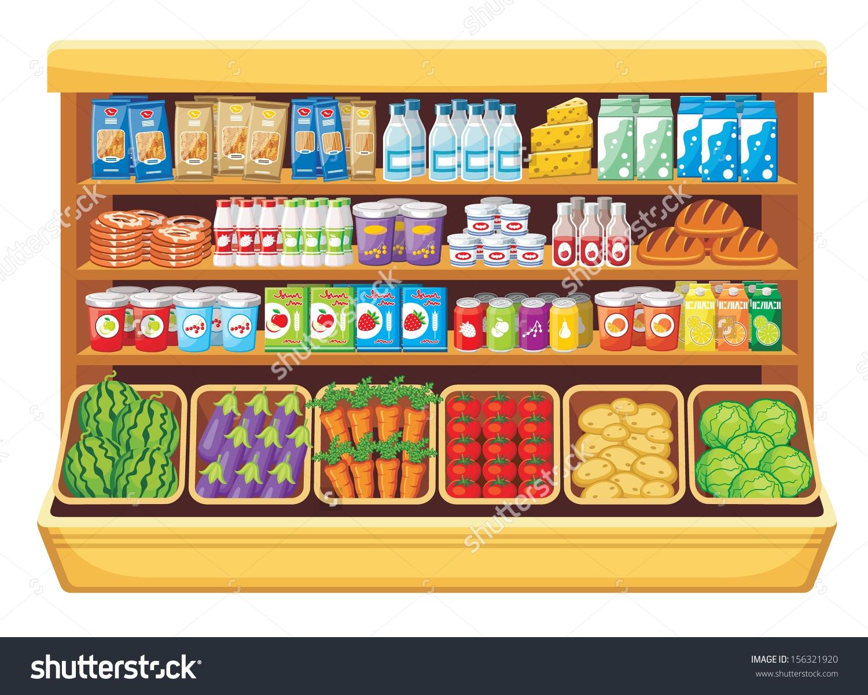 Supermarket store clipart clipartfest