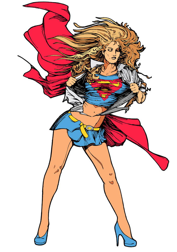 Superwoman clipart free images 8