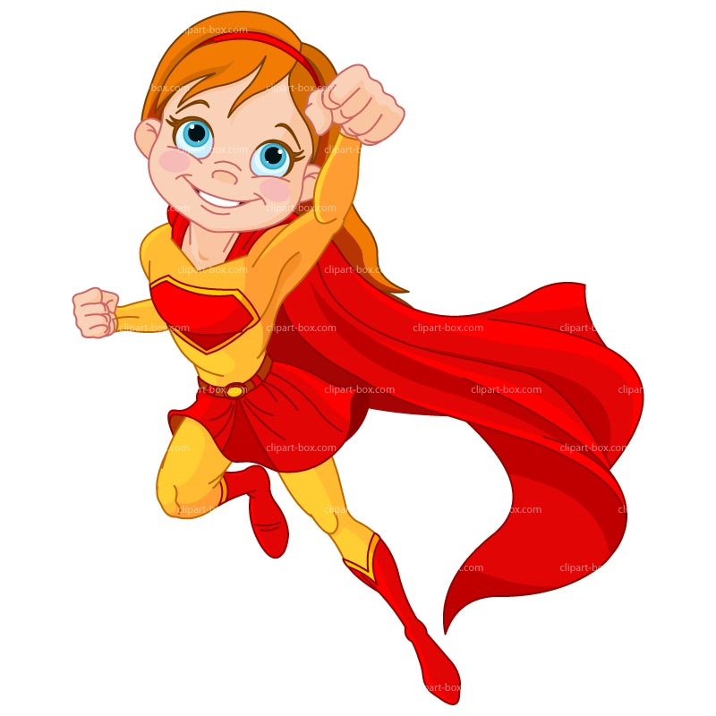 Superwoman clipart free images