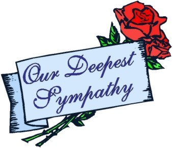 Sympathy condolences clip art