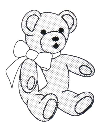 Teddy bear  black and white teddy bear clipart black and white clipartfox 2