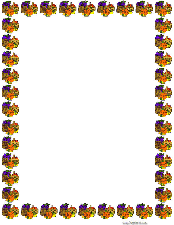 Thanksgiving border images thanksgiving border clipart free images 3
