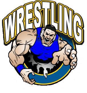 Wrestler wrestling clip art free clipart images
