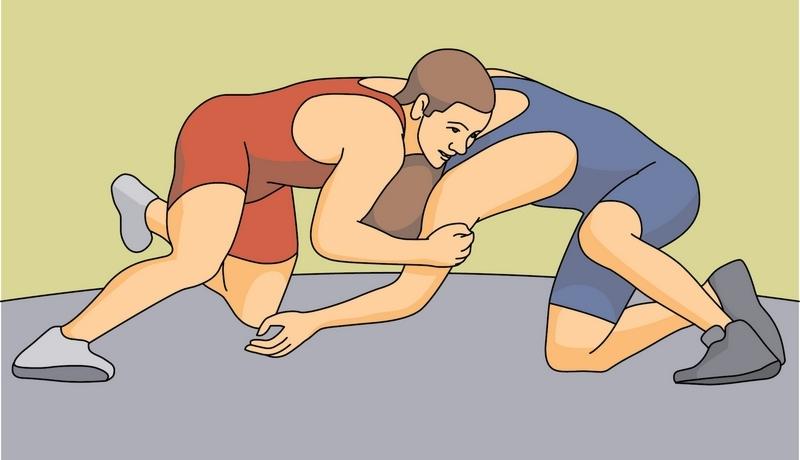 Wrestler wrestling images clip art clipart