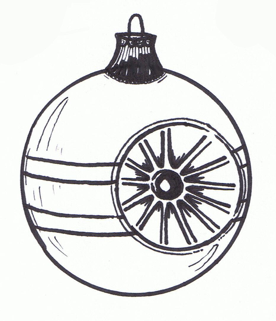 Christmas Clipart Black White Images, Stock Photos & Vectors | Shutterstock