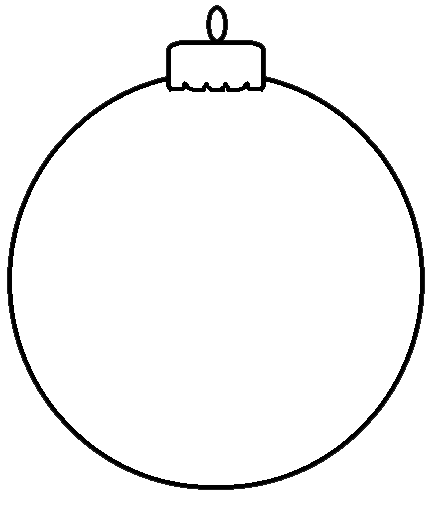 Christmas ornament  black and white disney christmas ornament clipart black and white clipartfest