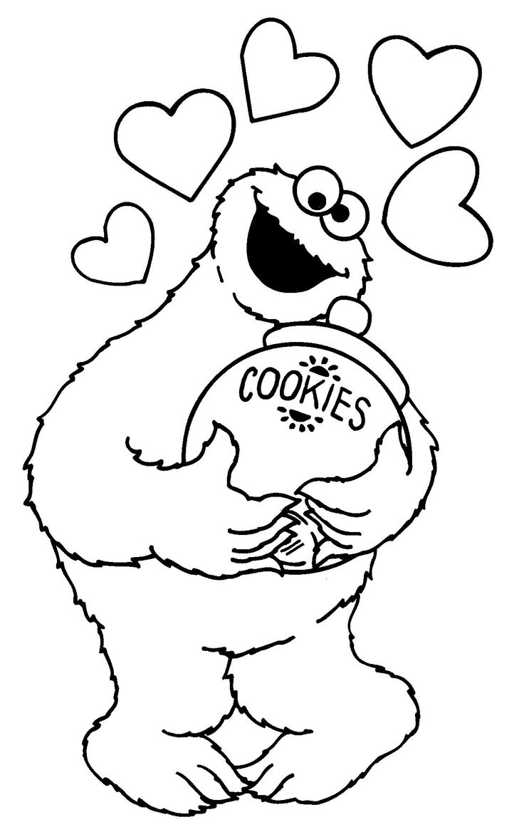 Cookie jar clip art monster voiykz