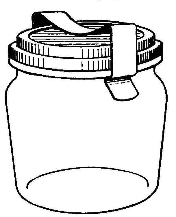 Cookie jar jar clipart