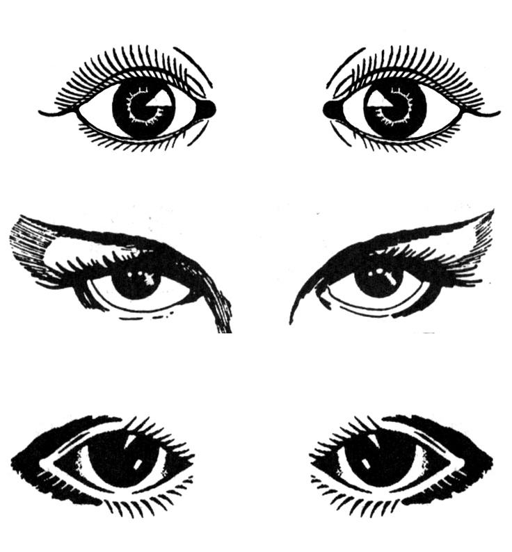 Eyes  black and white cartoon eye clipart black and white clipartfest