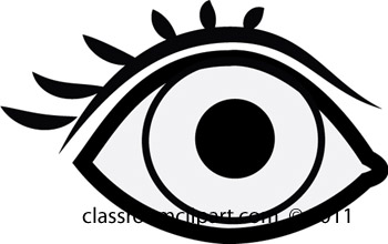 Eyes  black and white eye black and white clipart
