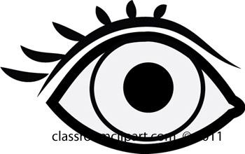 Eyes  black and white eye black and white clipart