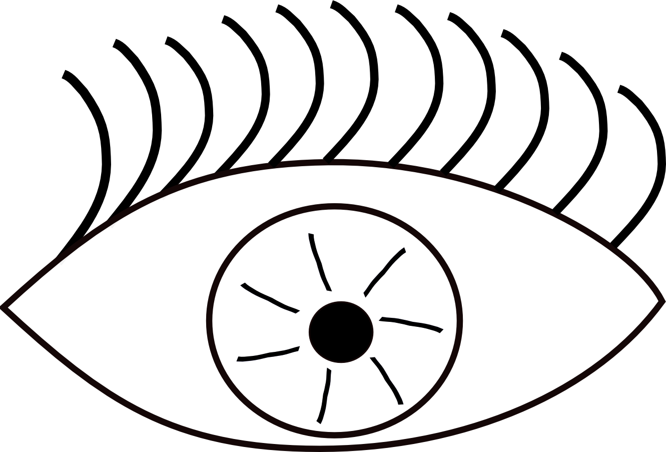 Eyes  black and white eye clip art black and white free clipart images 4