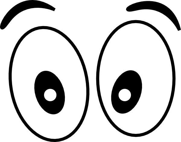 Eyes  black and white eyes clipart black and white