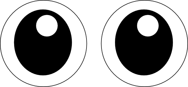 Eyes  black and white eyes eye clip art black and white free clipart images 6