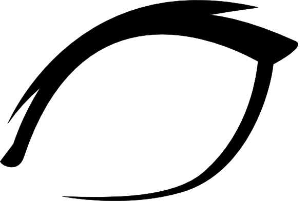 Eyes  black and white simple eye clipart black and white free 3