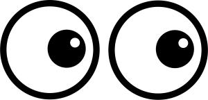 Eyes  black and white two eyes clipart black and white clipartfest