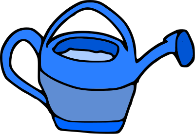 Free watering can clipart 1 page of clip art