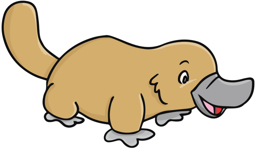 Platypus clipart free images