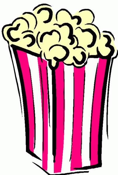 Popcorn  black and white popcorn clip art black and white free clipart images 3