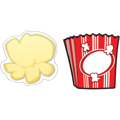 Popcorn kernel border free clipart images 2