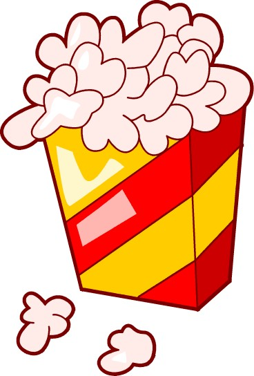 Popcorn kernel clipart free images 2 3