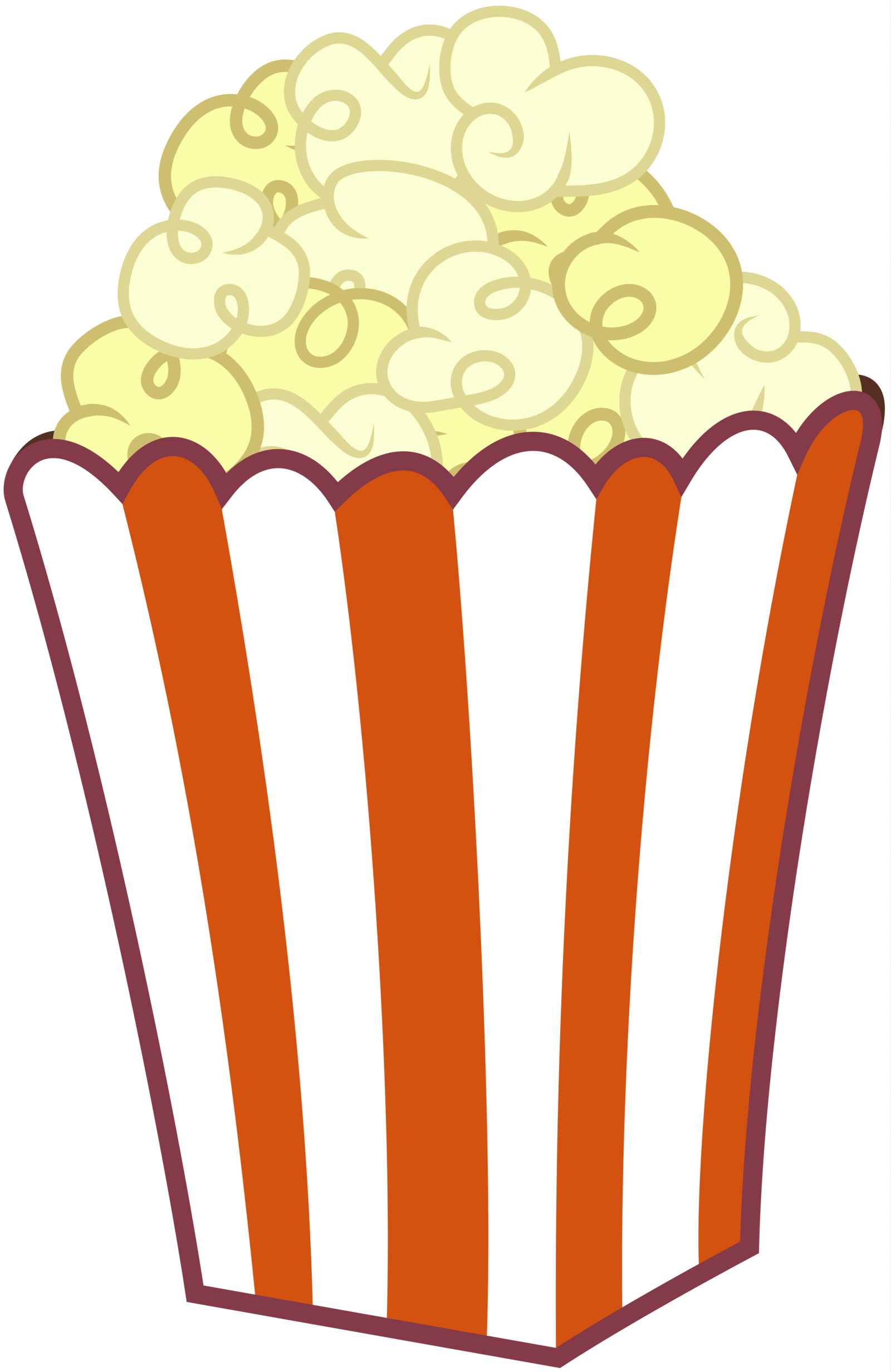 Popcorn kernel clipart transparent background clipartfest 4