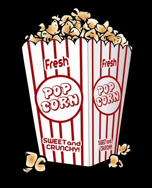 Popcorn kernel popcorn clip art 2
