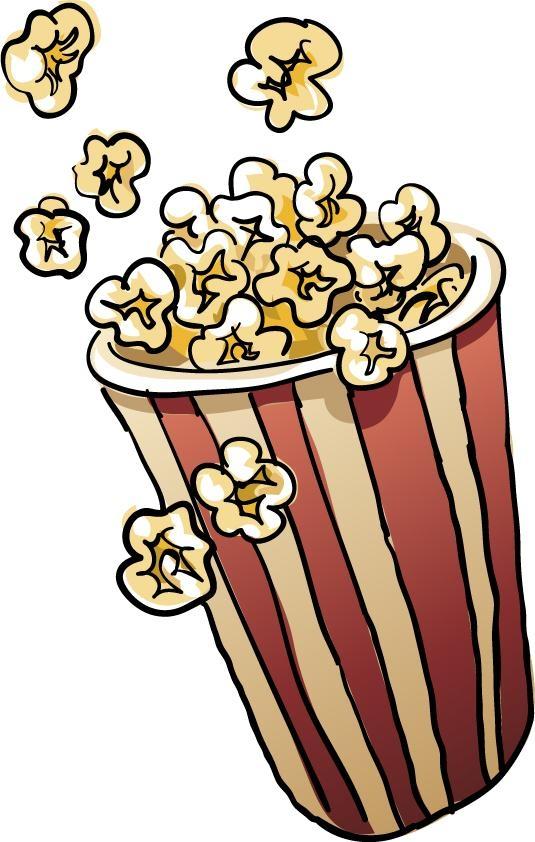 Popcorn kernel popcorn clip art