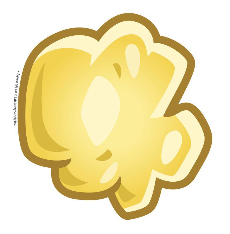 Popcorn kernel transparent clipart 2