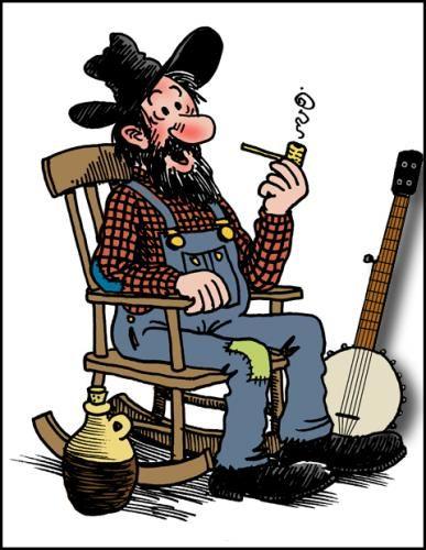 Redneck hillbilly clipart 5