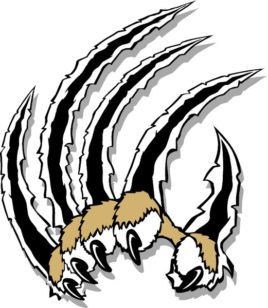 Bear Claw Clipart