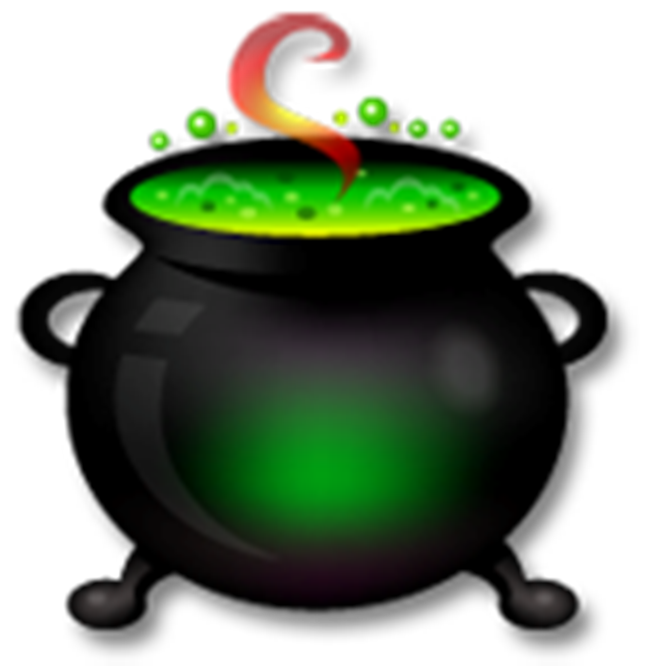 Cauldron clipart 3