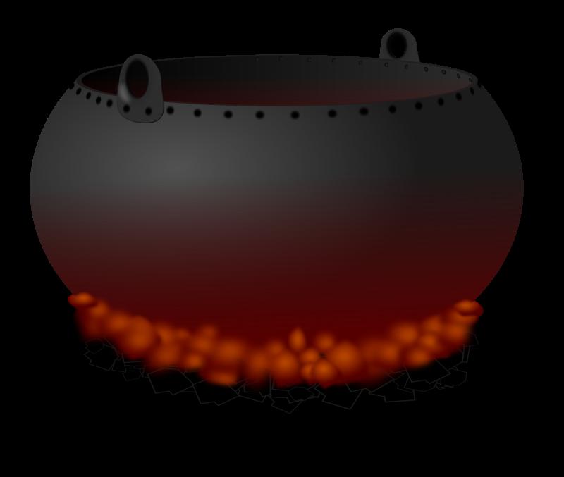 Cauldron clipart 4