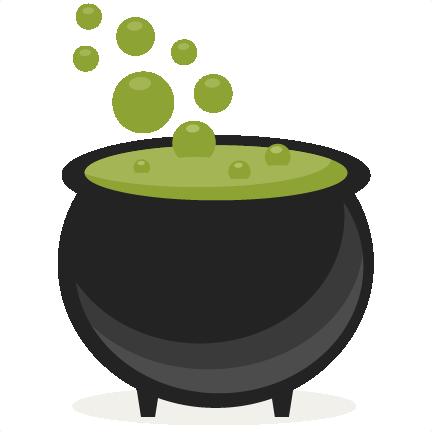 Cauldron clipart synkee