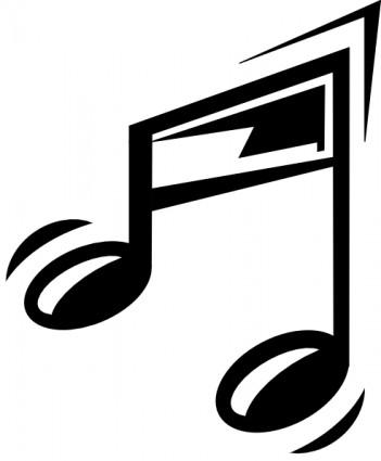 Clip art music staff clipart 2