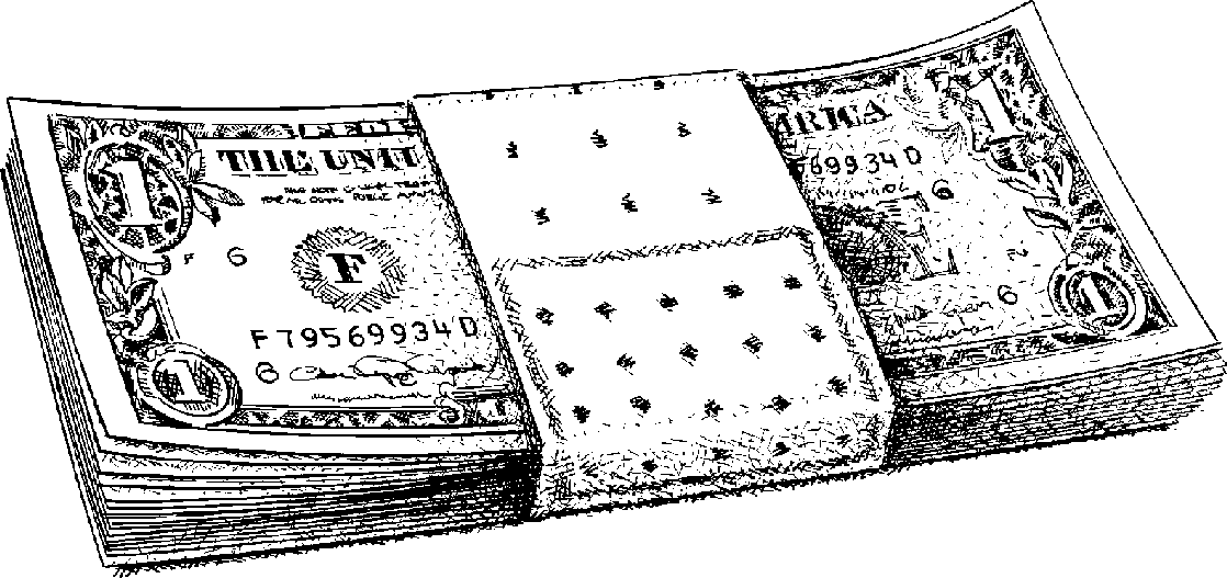 Money  black and white money clipart black and white 4